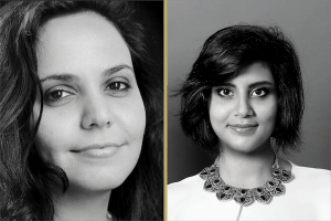 2019 Freedom To Write honorees Eman al-Nafjan and Loujain al-Hathloul