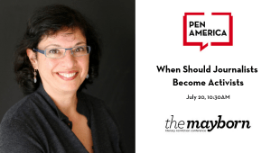 2019 Mayborn Nonfiction Conference When Should Journalists Become Activists Image