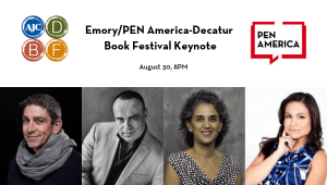Emory PEN America Decatur Book Festival Keynote Image