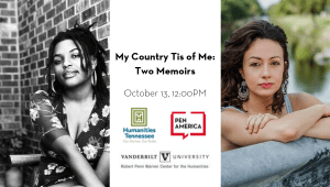 Southern Festival of Books 2019 My Country Tis Of Me Two Memoirs